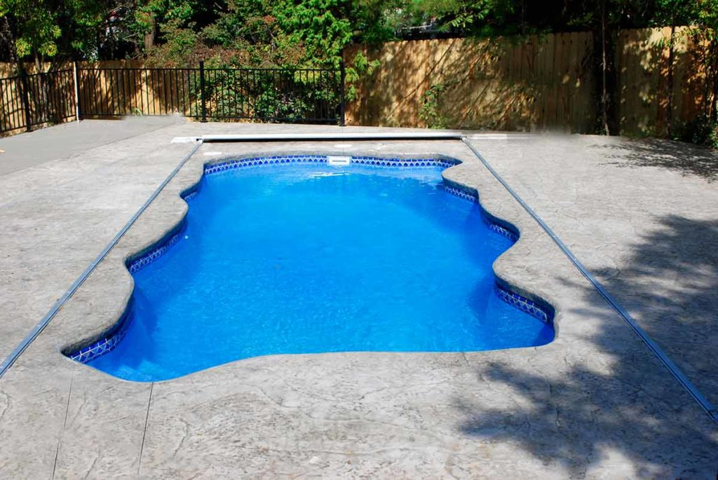 Key West Traditional Freeform Fiberglass Pool