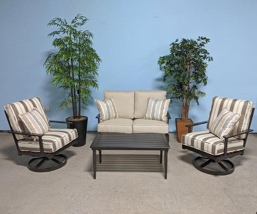 Lake Lure Outdoor Love seat Set by Woodard