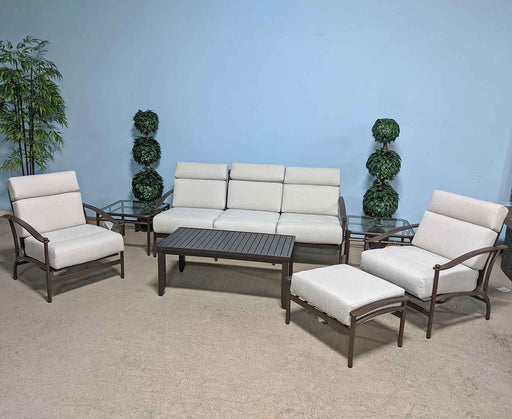 Nob Hill Sofa Set by Woodard