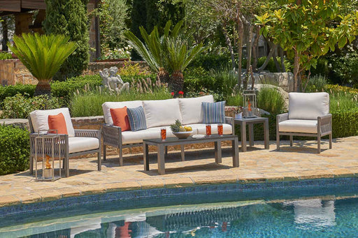 Palm Cay Outdoor Sofa Set
