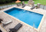 Sirius Rectangle Fiberglass Pool