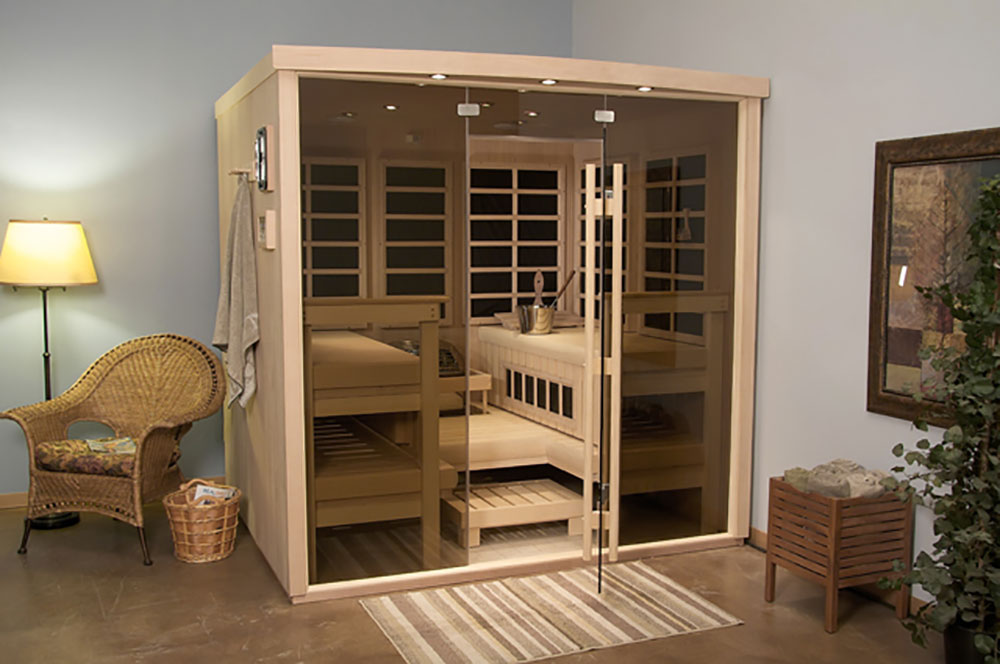 Solace Traditional Steam Sauna