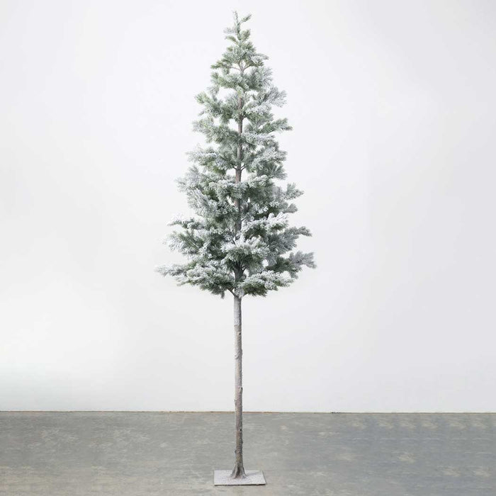 "Iced Potted 8'4"" Christmas Tree by Sullivans"