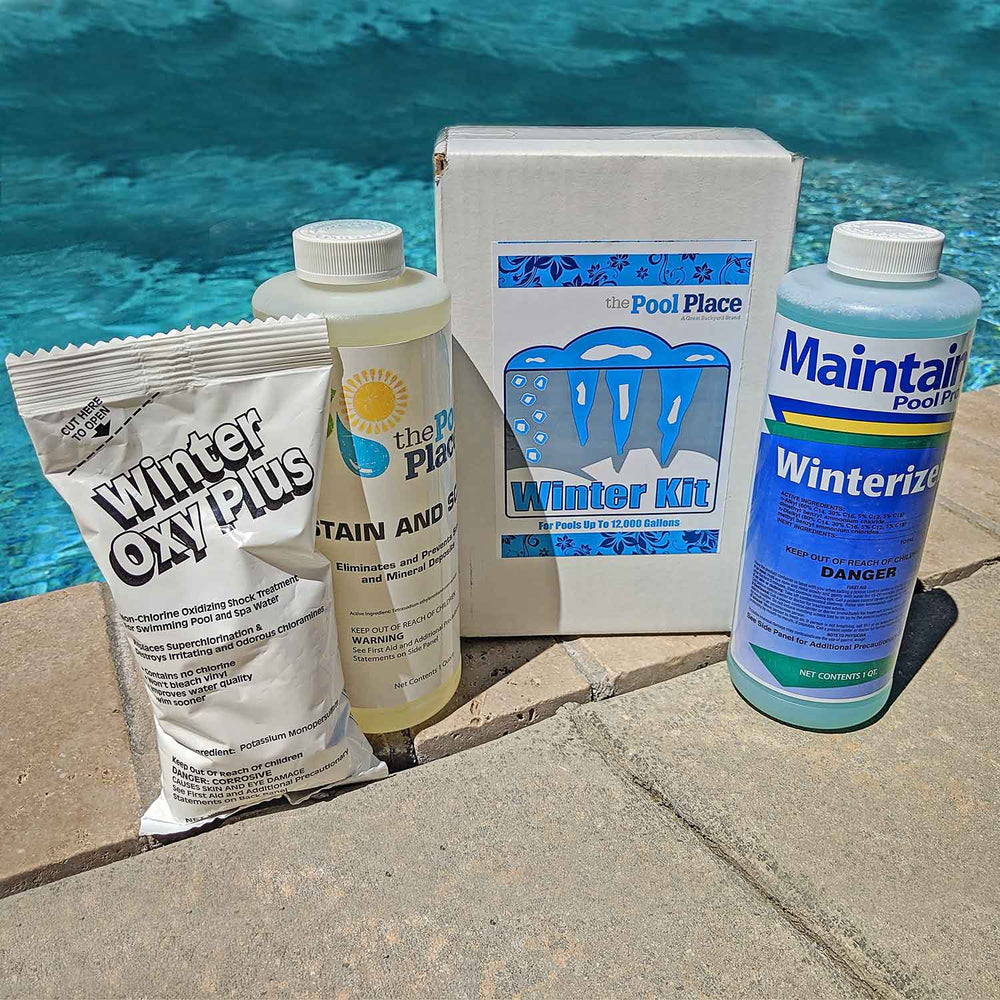 Pool Place Winterizing and Closing Chemical Kit for Above Ground & In Ground Pools