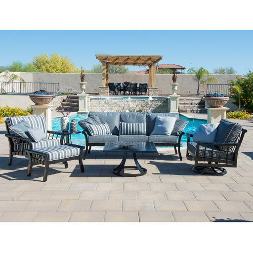 Rhyss Outdoor Sofa Set by Woodard