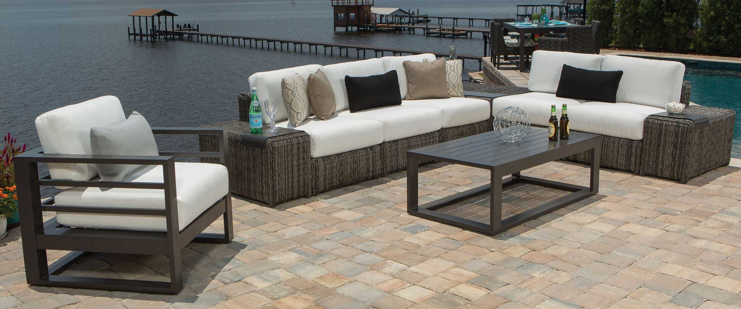 Orsay Outdoor Sectional Set by Ebel
