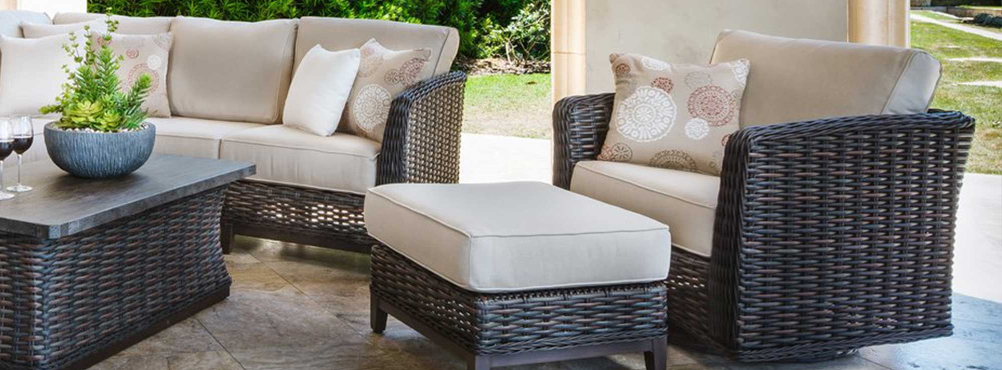 Catalina woven outdoor furniture collection