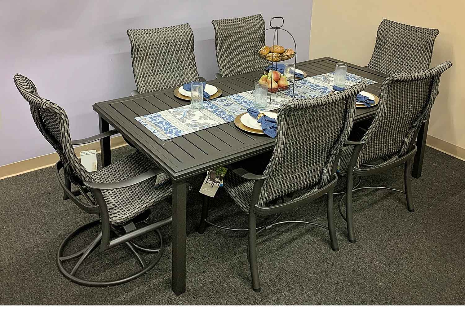 Stock Montreux Woven Patio Dining Set in Knoxville TN