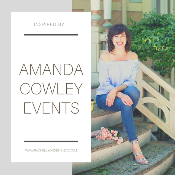 Inspired By...Amanda Cowley Events