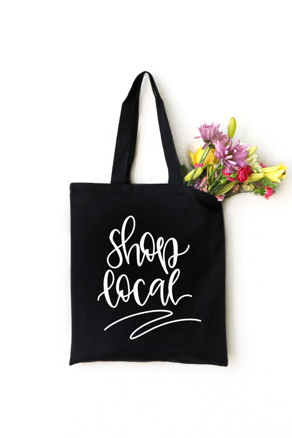 Shop Local Tote - Black