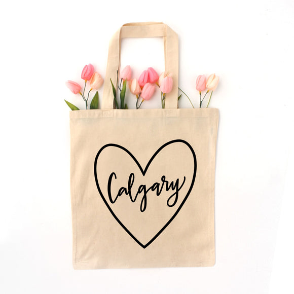 Love YYC Calgary Tote - Natural