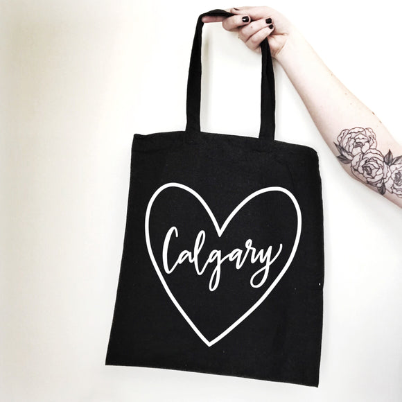 Love YYC Calgary Tote - Black