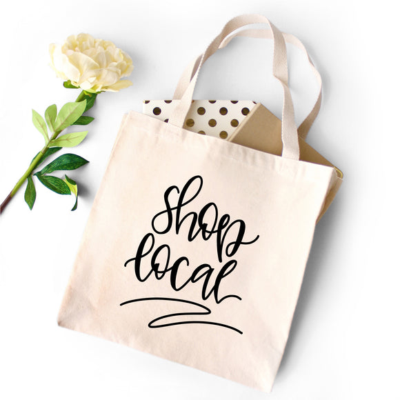 Shop Local Tote - Natural