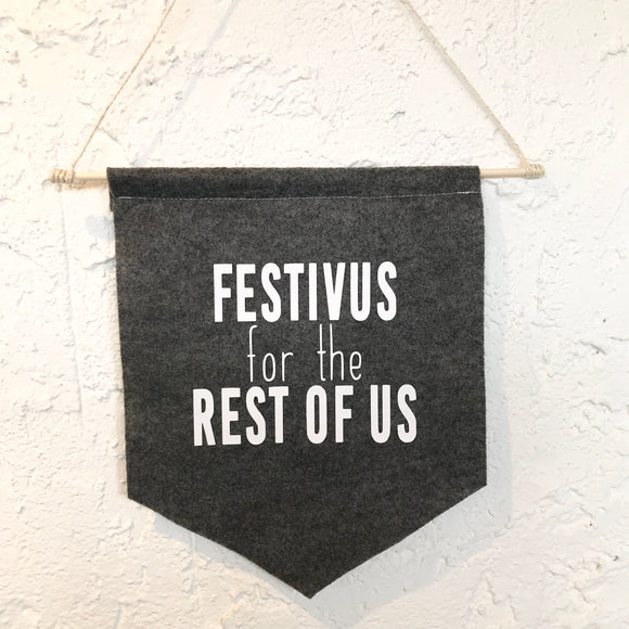 Holiday Banner - Festivus for the Rest of Us