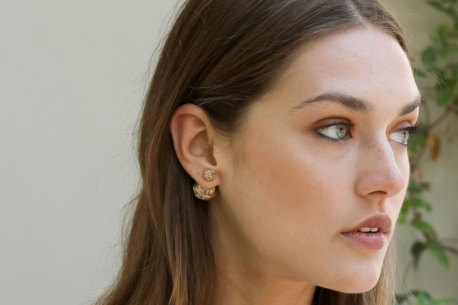 LALA LÉXA Margot Gold Earrings