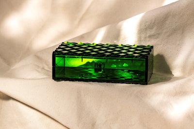 Gemma Clutch - Emerald