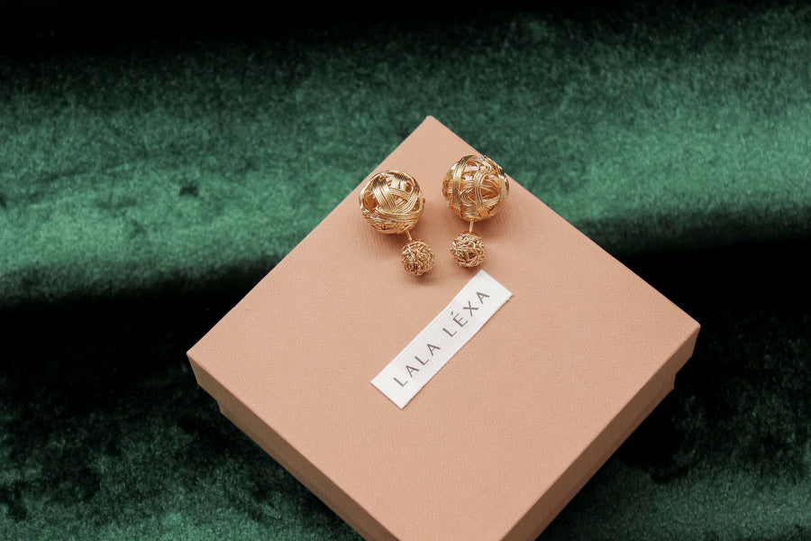 Margot Earrings - Gold