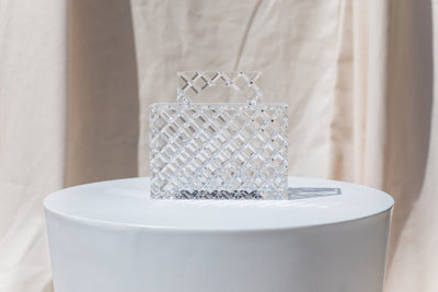 Gemma Handle Clutch - Crystal