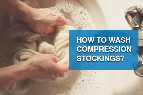 How to wash compression stockings?