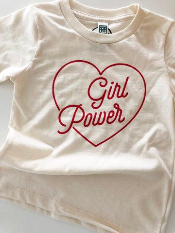 ORGANIC GIRL POWER TEE