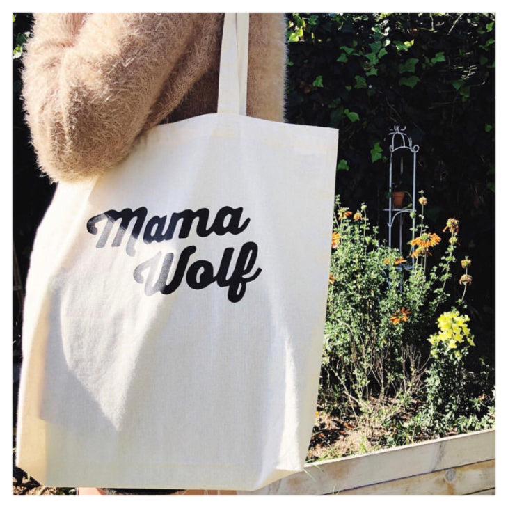 MAMA WOLF TOTE