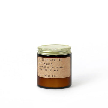 NO. 28 BLACK FIG MINI SOY CANDLE