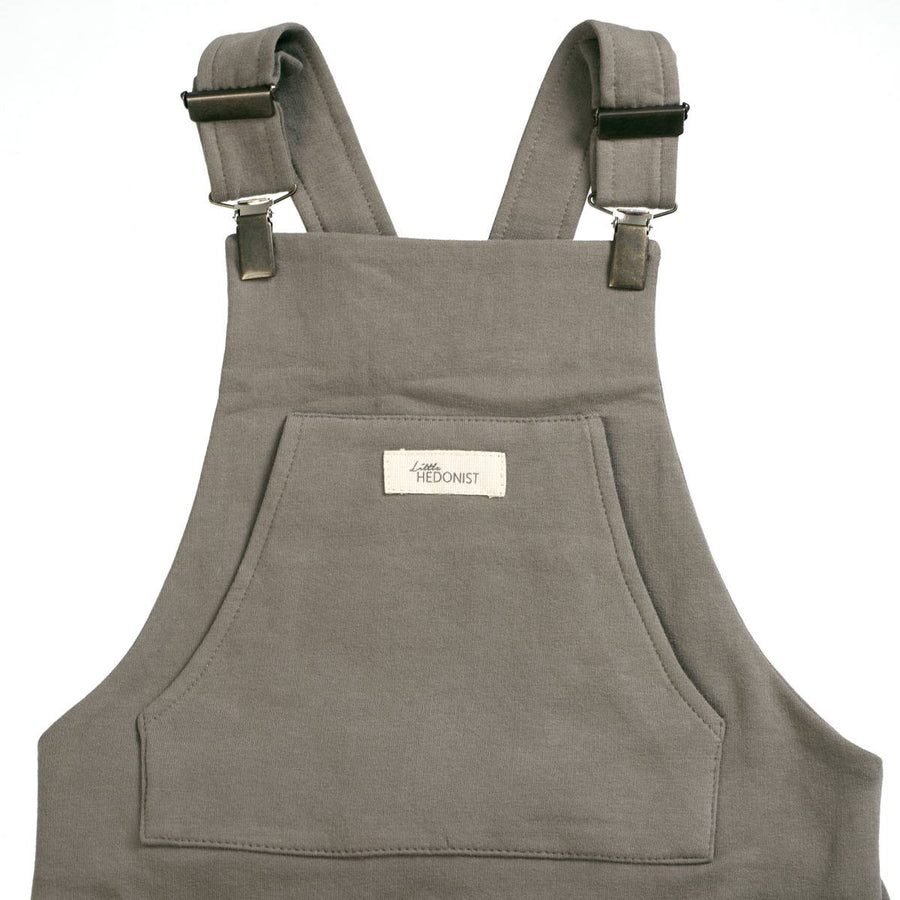 ORGANIC SALOPETTE WARM GREY