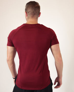 Burgundy Red Performance Shirt