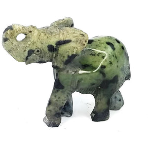 Hand Carved Stone Elephant From Zimbabwe
