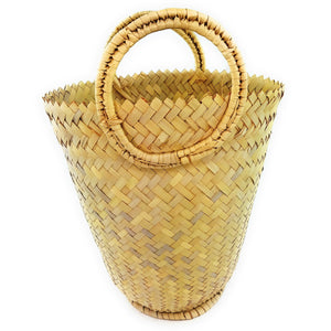 Wicker Tote Bag  - Plain