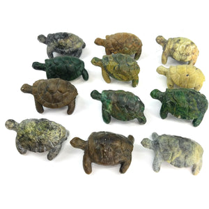 Assorted Stone Turtles
