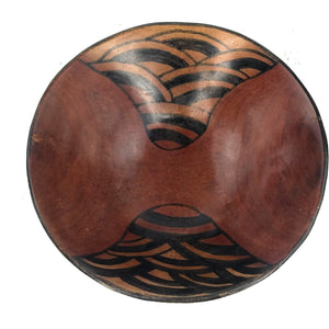 Olivewood Bowl Hand Carved In Zimbabwe