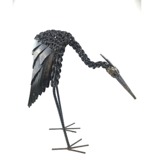 Recycled Metal Bird Handmade In Zimbabwe