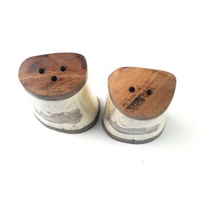 Salt and Pepper Shakers - L