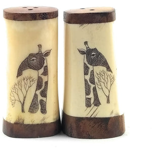 Salt and Pepper Shakers - M