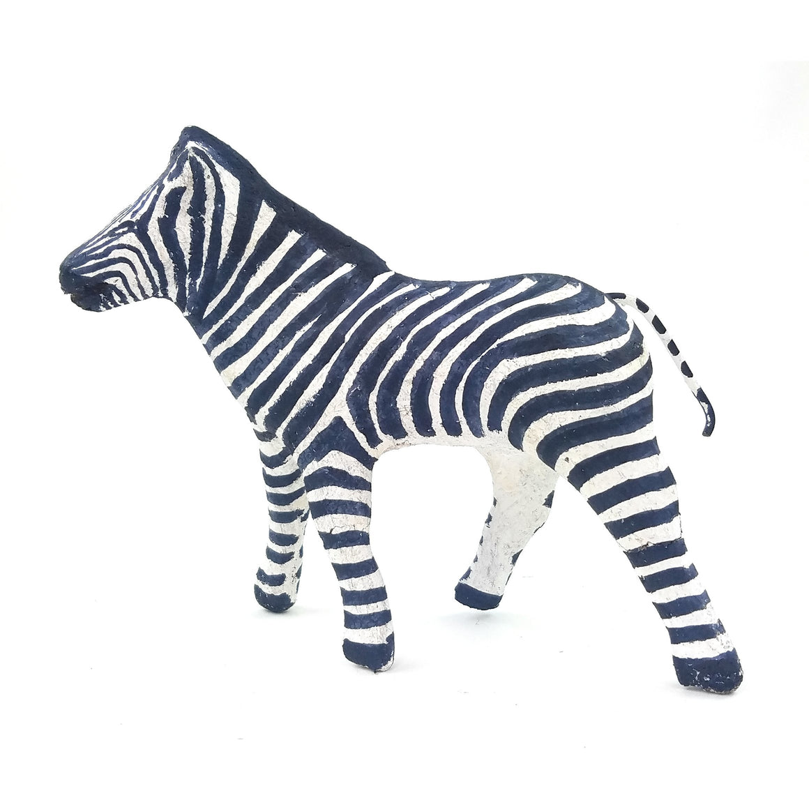 Zebra Sculpture Handmade In Zimbabwe