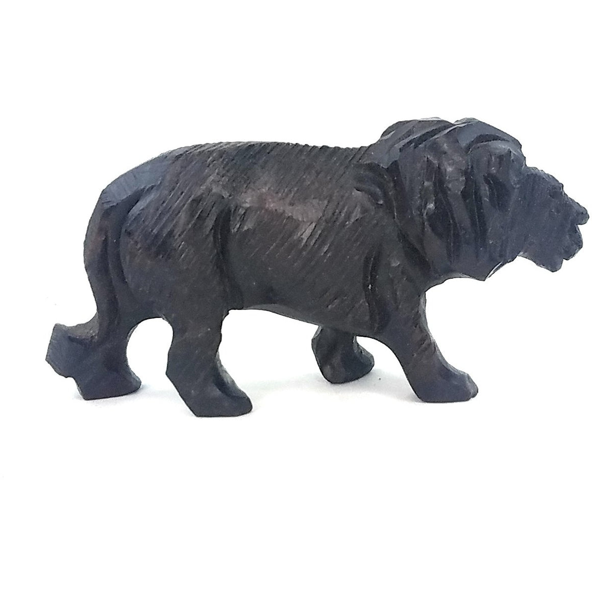 Ironwood Lion Hand Carved In Zimbabwe