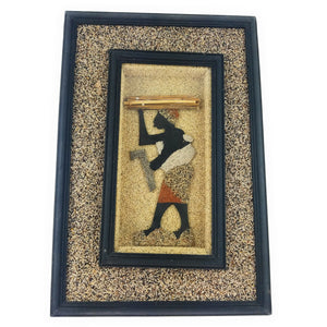 African ShadowBox - Working Woman