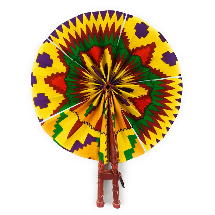 African Fan  -  Multi Color