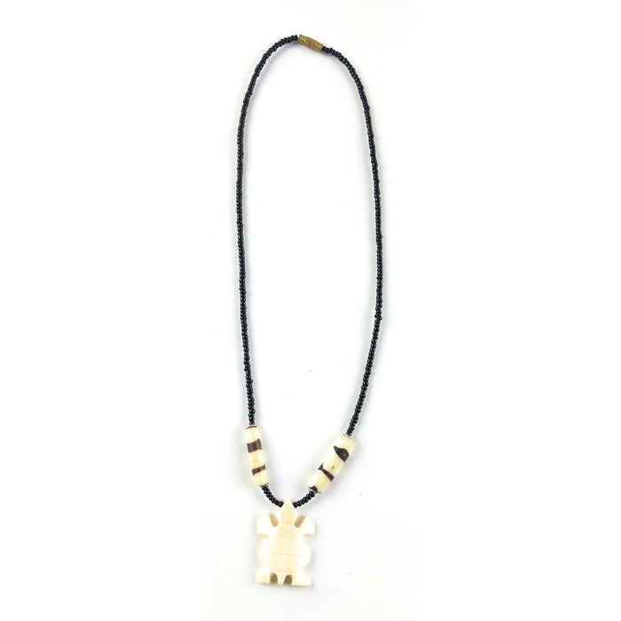Afrocentric Bone and Bead Choker
