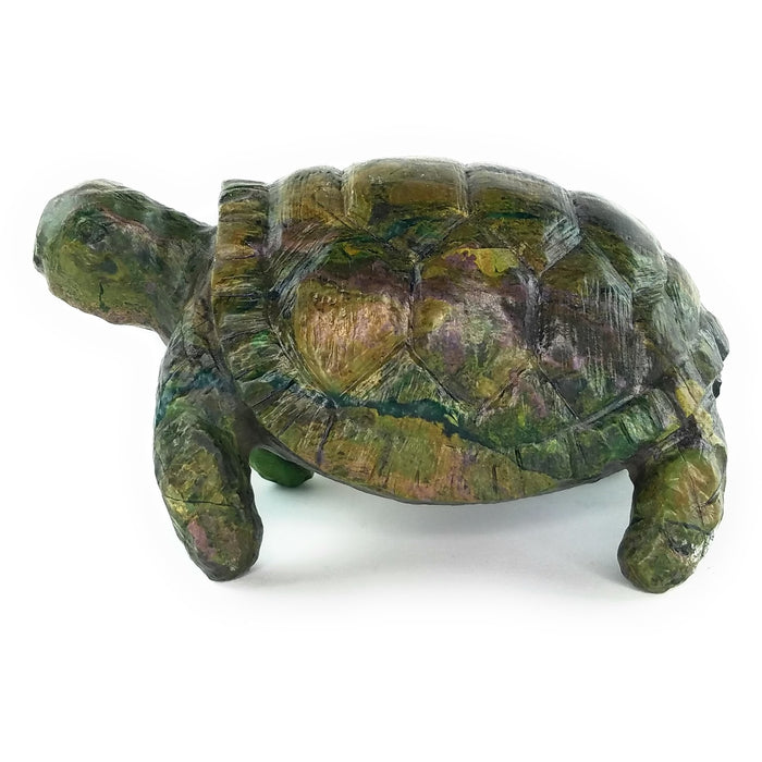 Stone Turtle (African Tortoise) Hand Carved In Zimbabwe