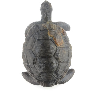 Hand Carved Stone Turtle Sculpture
