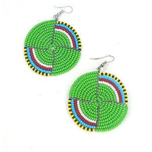 Massai Beaded Earrings