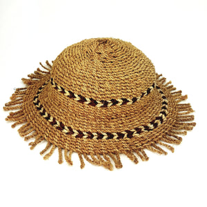 Wicker Sun Hat