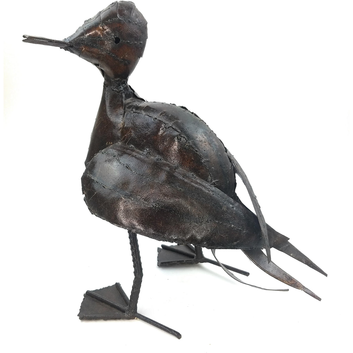 Recycled Metal Duck
