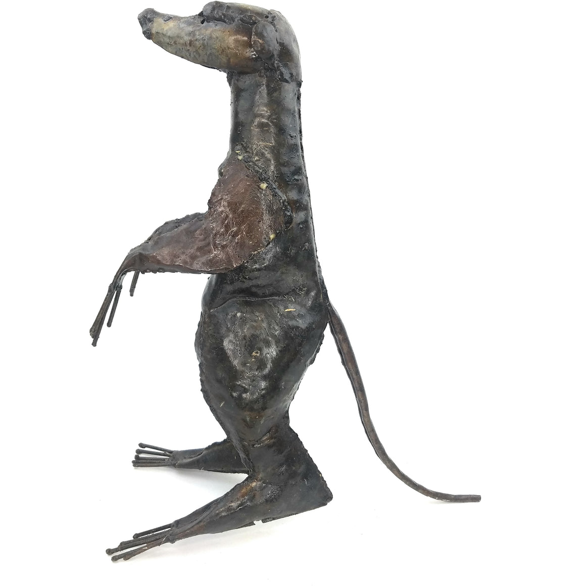 Recycled Metal Meerkat