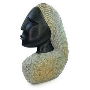 Beautiful Woman Hand carved In Zimbabwe