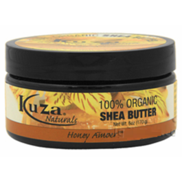 100% Unrefined Shea Butter - Honey Amber