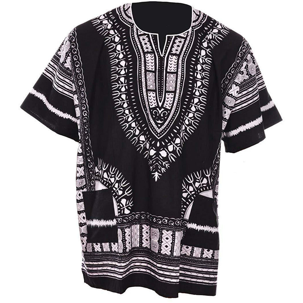 Black and White Dashiki