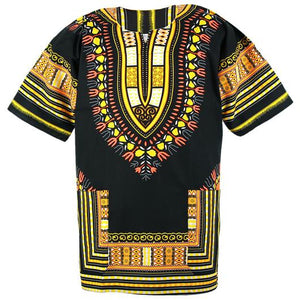 Black and Yellow Dashiki